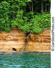 Pictured Rocks National Lakeshore Michigan