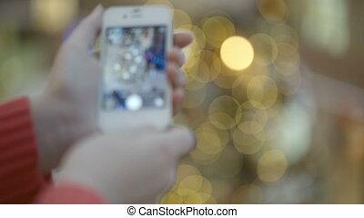 pictures, принятие, tree., рождество