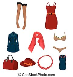 Pictures about types of women's clothing. Outerwear and...