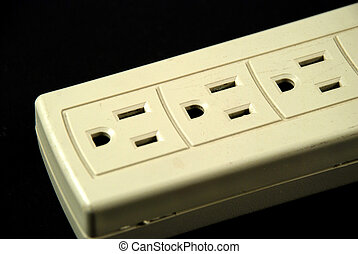 pictures of a power strip to connect equipment
