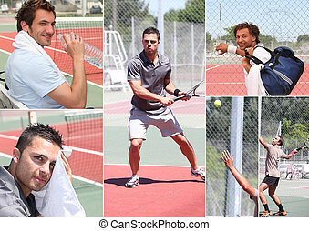 Pictures of tennis players