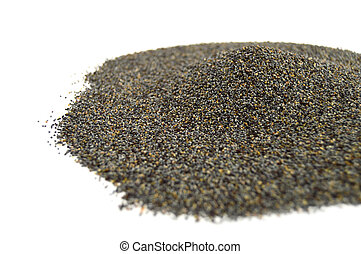 Pictures of white poppy seed