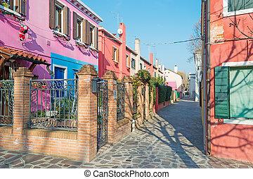 picturesque backstreet