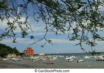 picturesque gulf of Baratti, Tuscany