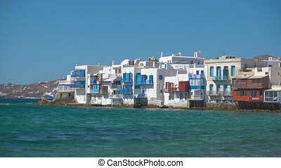 Little Venice in Mykonos - Picturesque houses of Little...