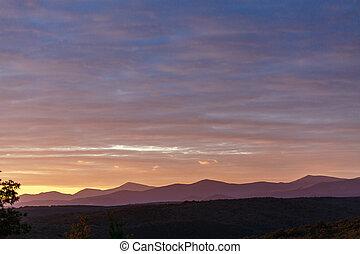 Picturesque landscape of Spain