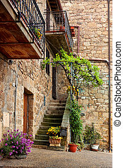 Picturesque nook of Tuscany - Beautiful picturesque nook of ...