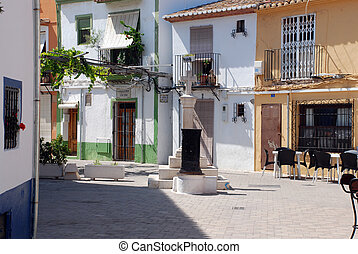 Picturesque view in Spain - Picturesque view of the old ...