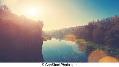 Picturesque view on Buksky Canyon