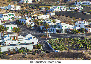picturesque village of Femes in Lanzarote