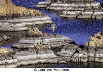 Picturesque Watson Lake near Prescott Arizona
