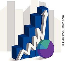 Pie Chart Concept Stock Illustration