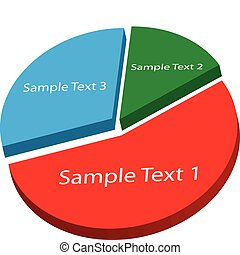 Pie Chart - Image of a sample pie chart.