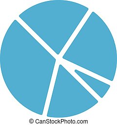 Pie Chart Vector Icon