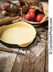 pie crust baking preparation