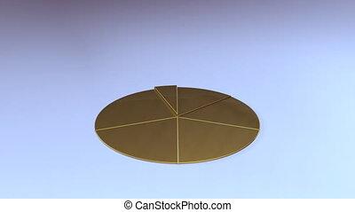 Pie graph depicting grow