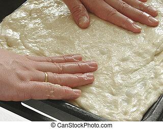 pie preparing