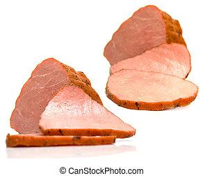 Piece of a ham