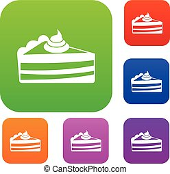 Piece of cake set collection