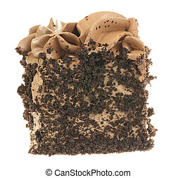 Piece of Cake - A stock photo of a piece of chocolate cake...