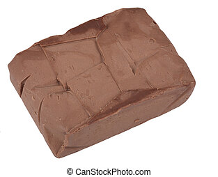 piece of chocolate butter