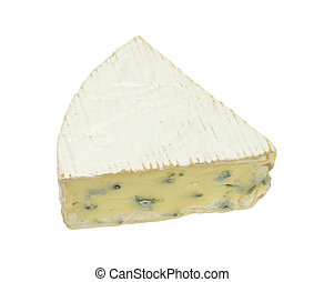 piece of danish blue cheese