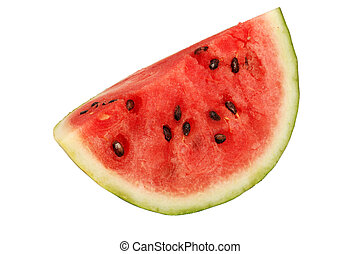 Piece of Fresh and Juicy Watermelon