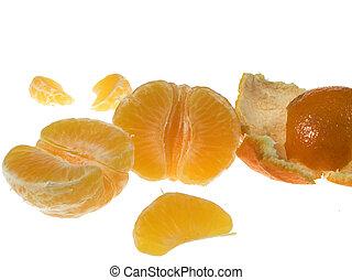 Piece of mandarin