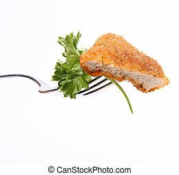 Piece of pork chop