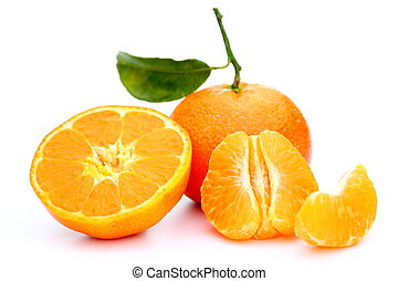 pieces of a clementine