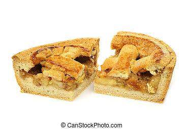 pieces of apple pie