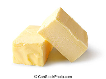 pieces of butter