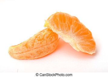 pieces of clementine