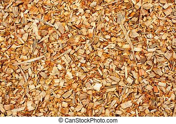 pieces of scrap wood