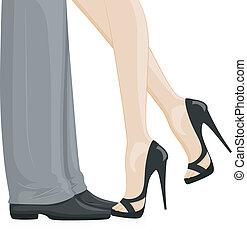 piedi, coppia