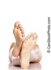piedi, nudo
