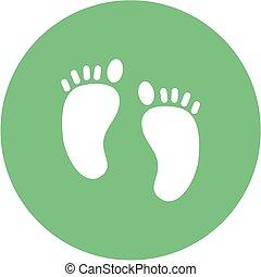 piedi umani