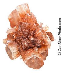 piedra,  aragonite,  mineral,  druse, aislado