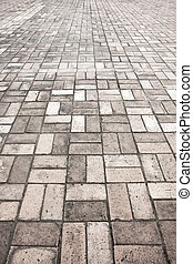 piedra, calle, pavimento, camino, textura