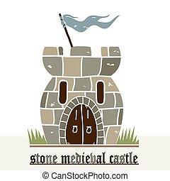 piedra, castillo