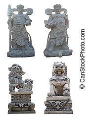 piedra, estatua