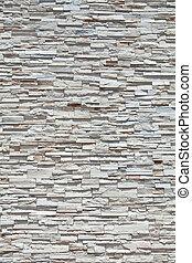 piedra, lleno, bloques, pared, muchos, marco, arenisca, hecho