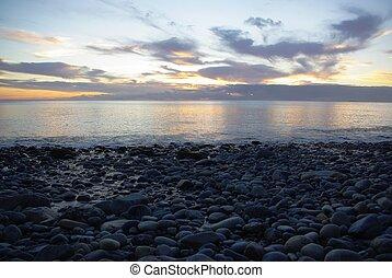 piedra, playa