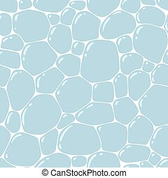 piedras, patrón, seamless, pavimentar, plano de fondo, o
