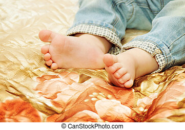 pieds bébé, mignon