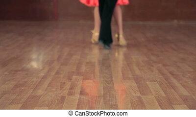 pieds, danseurs