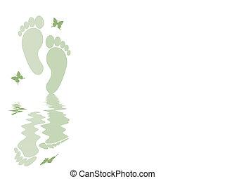 pieds