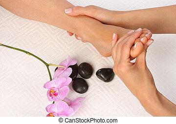 pieds, masage