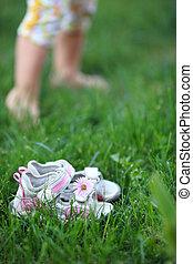 pieds nue