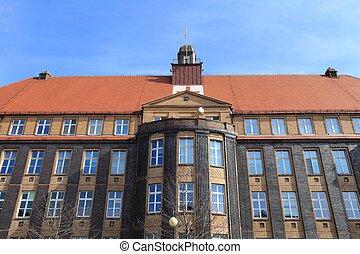 Piekary Slaskie in Upper Silesia (Gorny Slask) region of Poland. Historic Traumatology Hospital.